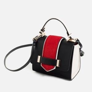 RARE Zara Contrast Mini City Bag